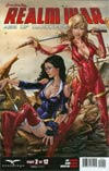Grimm Fairy Tales Presents Realm War #2 Cover D Talent Caldwell (Age Of Darkness Tie-In)