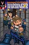 Armor Hunters Harbinger #2 Cover B Variant Donovan Santiago ValiantCraft Cover (Armor Hunters Tie-In)