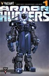 Armor Hunters #1 Cover E Incentive Clayton Crain Design Variant Cover