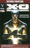 X-O Manowar Vol 3 #25 Cover F 2nd Ptg Jelena Kevic-Djurdjevic Variant Cover (Armor Hunters Part 0)