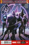 Avengers Vol 5 #35 Cover A Regular Jim Cheung Cover (Time Runs Out Tie-In)
