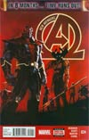 New Avengers Vol 3 #24 Cover A 1st Ptg Regular Gabriele Dell Otto Cover (Time Runs Out Tie-In)