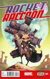 Rocket Raccoon Vol 2 #3 Cover A 1st Ptg Regular Skottie Young Cover