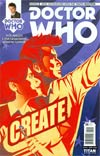 Doctor Who 10th Doctor #5 Cover A Regular Verity Glass Cover