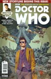 Doctor Who 10th Doctor #6 Cover A Regular Tommy Lee Edwards Cover