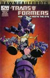Transformers More Than Meets The Eye #33 Cover B Variant Nick Roche Subscription Cover (Dawn Of The Autobots Tie-In)