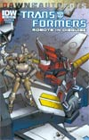 Transformers Robots In Disguise #33 Cover B Variant Casey W Coller Subscription Cover (Dawn Of The Autobots Tie-In)
