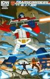 Transformers vs GI Joe #3 Cover B Variant Jim Rugg Subscription Cover
