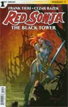 Red Sonja Black Tower #1 Cover A Regular Amanda Conner Cover