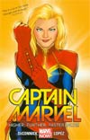 Captain Marvel Vol 1 Higher Further Faster More TP