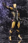 Marvel Comics Avengers Now Iron Man ARTFX Plus Statue Regular Black Version