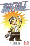 Rocket Raccoon Vol 2 #1 Cover F Variant Leonel Castellani Stan Lee Lego Variant Cover