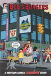 Bobs Burgers #1 Cover C Midtown Exclusive Belchers In NYC Variant Cover