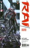 Rai Vol 2 #2 Cover F 2nd Ptg