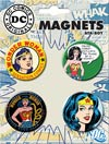 DC Comics 1.25-inch Round Magnet - Wonder Woman Various (40182RM4)