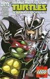 Teenage Mutant Ninja Turtles New Animated Adventures #13 Cover B Variant Lego Cover