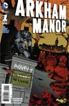 Arkham Manor #1 Cover A Regular Shawn Crystal Cover
