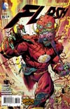 Flash Vol 4 #35 Cover B Variant Ryan Ottley Monsters Cover
