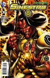 Sinestro #6 Cover B Variant Bart Sears Monsters Cover (Godhead Act 1 Part 6)