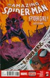 Amazing Spider-Man Vol 3 #8 Cover A Regular Giuseppe Camuncoli Cover (Edge Of Spider-Verse Tie-In)