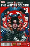 Bucky Barnes Winter Soldier #1 Cover A Regular Marco Rudy Cover