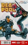 Deadpool Vol 4 #36 Cover A Regular David Nakayama Cover (AXIS Tie-In)