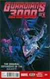 Guardians 3000 #1 Cover A Regular Alex Ross Cover