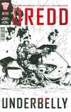 Dredd Underbelly Movie Sequel One Shot Cover C Variant Trevor Hairsine Black & White Cover