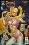 Zombies vs Cheerleaders Halloween Special #1 Cover B Elias Chatzoudis