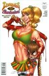 Zombies vs Cheerleaders Halloween Special #1 Cover C Jen Broomall