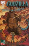 Godzilla Cataclysm #3 Cover A Regular Dave Wachter Cover