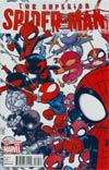 Superior Spider-Man #32 Cover B Variant Skottie Young Interlocking Variant Cover