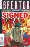 Doctor Spektor Master Of The Occult #1 Cover J Incentive Signed By Mark Waid