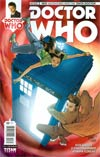 Doctor Who 10th Doctor #2 Cover C Incentive Elena Casagrande Color Variant Cover