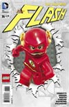 Flash Vol 4 #36 Cover B Variant DC Lego Cover