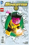 Sinestro #7 Cover B Variant DC Lego Cover (Godhead Act 2 Part 5)