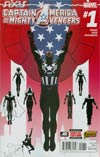 Captain America And The Mighty Avengers #1 Cover A Regular Luke Ross Cover (AXIS Tie-In)