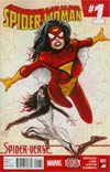 Spider-Woman Vol 5 #1 Cover A 1st Ptg Regular Greg Land Cover (Spider-Verse Tie-In)