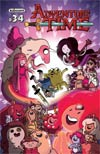 Adventure Time #34 Cover A Regular Stu Livingston Cover