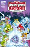 Angry Birds Transformers #1 Cover A Regular Marcelo Ferreira Cover