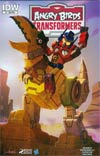Angry Birds Transformers #1 Cover B Variant Livio Ramondelli Subscription Cover