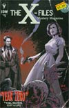 X-Files Year Zero #5 Cover B Variant Robert Hack Subscription Cover