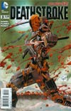 Deathstroke Vol 3 #3 Cover A Regular Tony S Daniel Cover