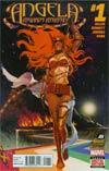 Angela Asgards Assassin #1 Cover A Regular Stephanie Hans Cover