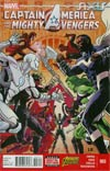Captain America And The Mighty Avengers #3 Cover A Regular Luke Ross Cover (AXIS Tie-In)