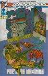 Transformers vs GI Joe #5 Cover A Regular Tom Scioli Cover