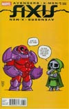 Avengers & X-Men AXIS #1 Cover C Variant Skottie Young Baby Cover