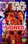 Star Wars Vol 4 #1 Cover Z-Z-D Midtown Exclusive Mark Brooks Connecting Color Variant Cover Signed By John Cassaday