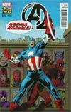 New Avengers Vol 3 #25 Cover B Incentive Deadpool 75th Anniversary Photobomb Variant Cover (Time Runs Out Tie-In)