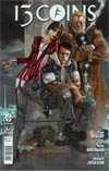 13 Coins #1 Cover B Incentive Simon Bisley Variant Cover